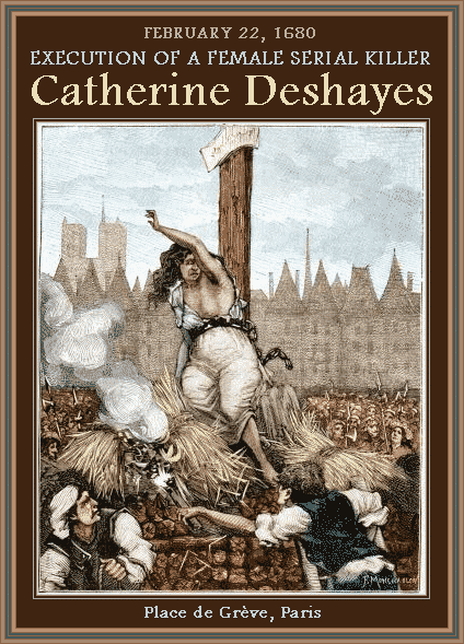 Execução de catherine deshayes mundo sombrio