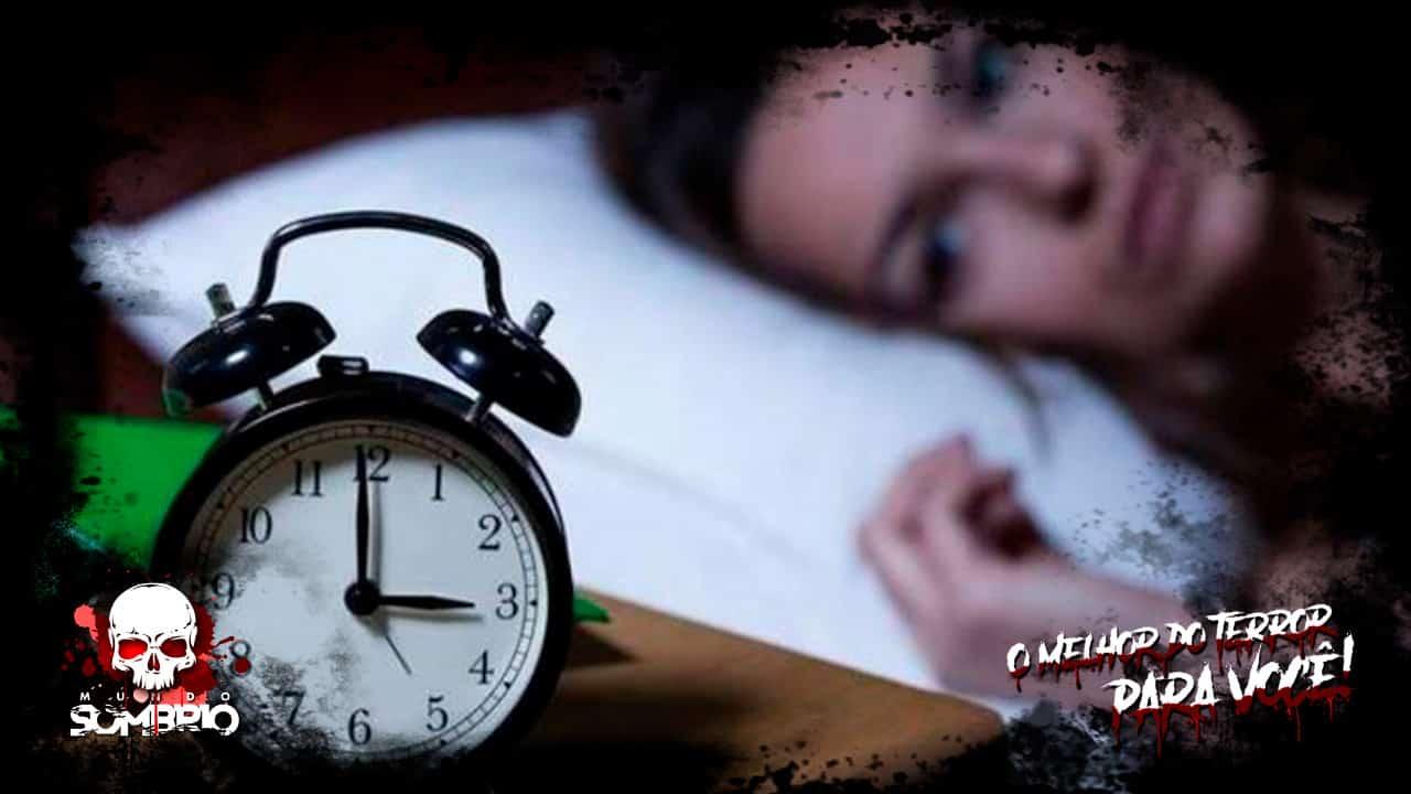 3 horas da manhã, a Hora do Diabo mundo sombrio