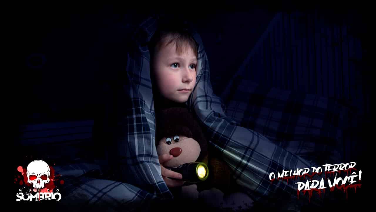 As Crianças são Mais Propensas a serem Assombradas mundo sombrio