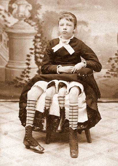 Josephine myrtle corbin, a mulher com 4 pernas