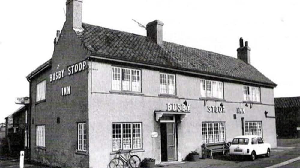 Busby stoop inn onde toda a história da cadeira amaldiçoada começou.