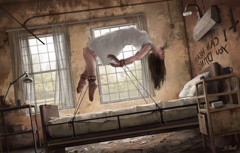 Stefan koidl by stefan koidl haunted asylum conjuring • mundo sombrio