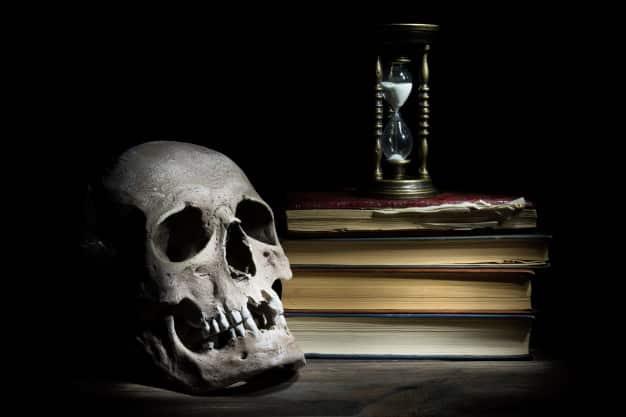 As melhores histórias de terror do mundo estão no mundo sombrio! Caveira livros