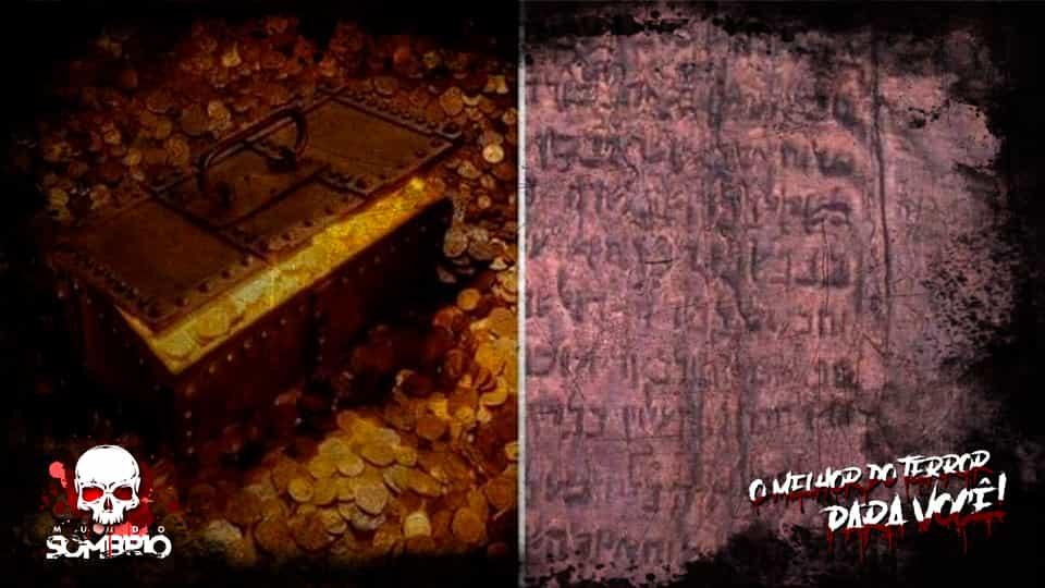 O Pergaminho de Cobre de Qumran e seus Tesouros Escondidos mundo sombrio