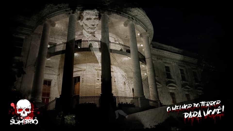 O fantasma de Lincoln e seus avistamentos na Casa Branca mundo sombrio