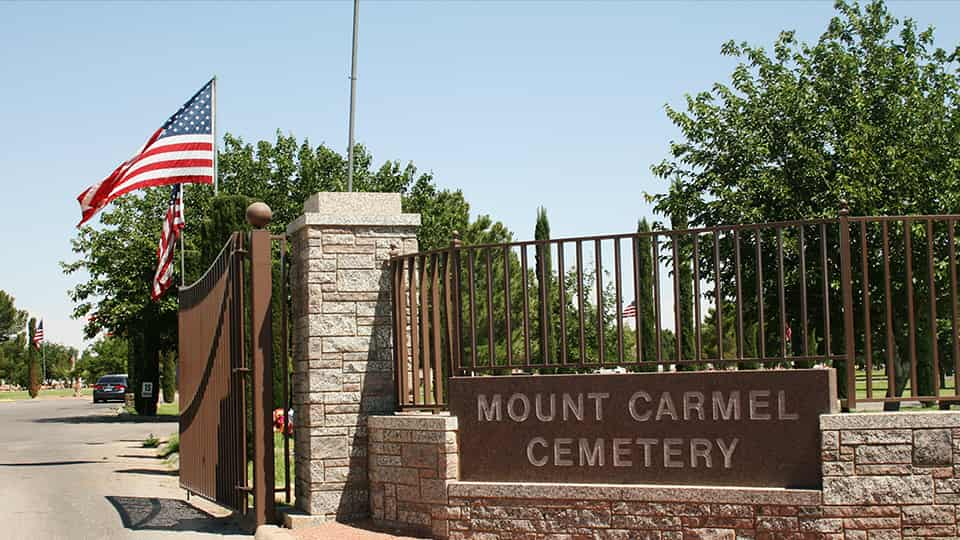 Cemiterio mount carmel • mundo sombrio