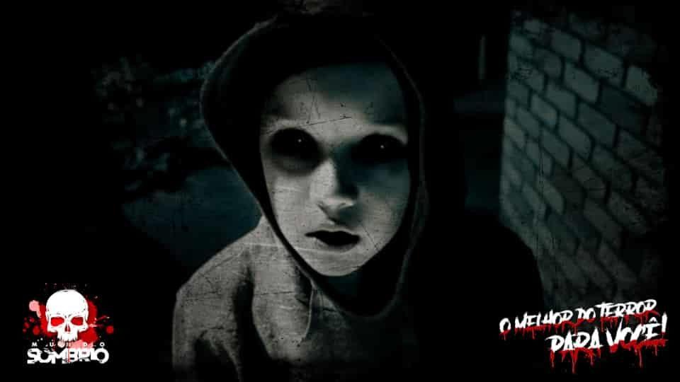 As Aterrorizantes Crianças De Olhos Negros mundo sombrio