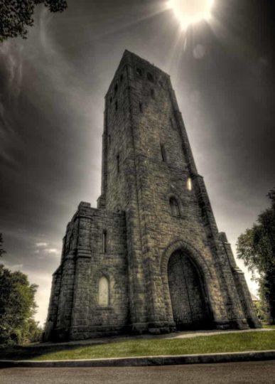 A torre do diabo mundo sombrio