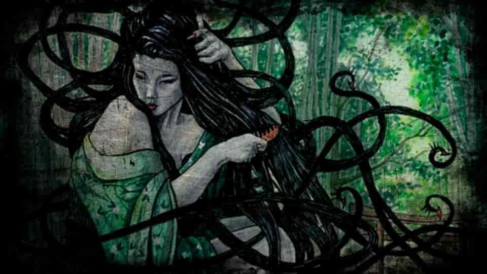 harionago lenda japonesa mundo sombrio