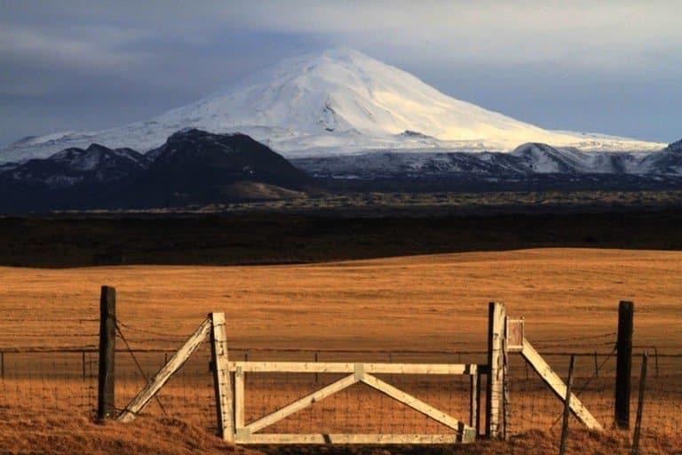 Portões do inferno - vulcão hekla - sul da islândia