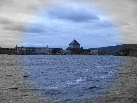 Portões do inferno - purgatório de são patrício - condado de donegal, irlanda