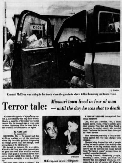 Newspaper article • mundo sombrio
