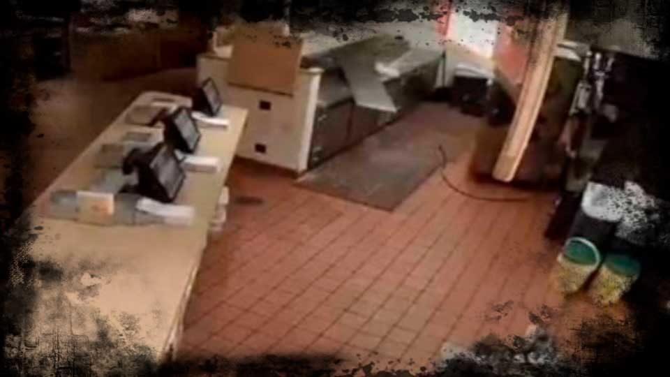 Vídeo gravado por Câmeras de Segurança gera rumores sobre Fantasmas em Restaurante