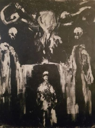 Sinister painting • mundo sombrio