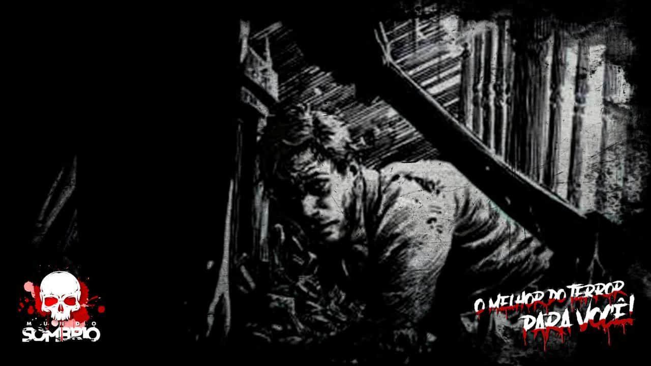 as escadas história de terror mundo sombrio