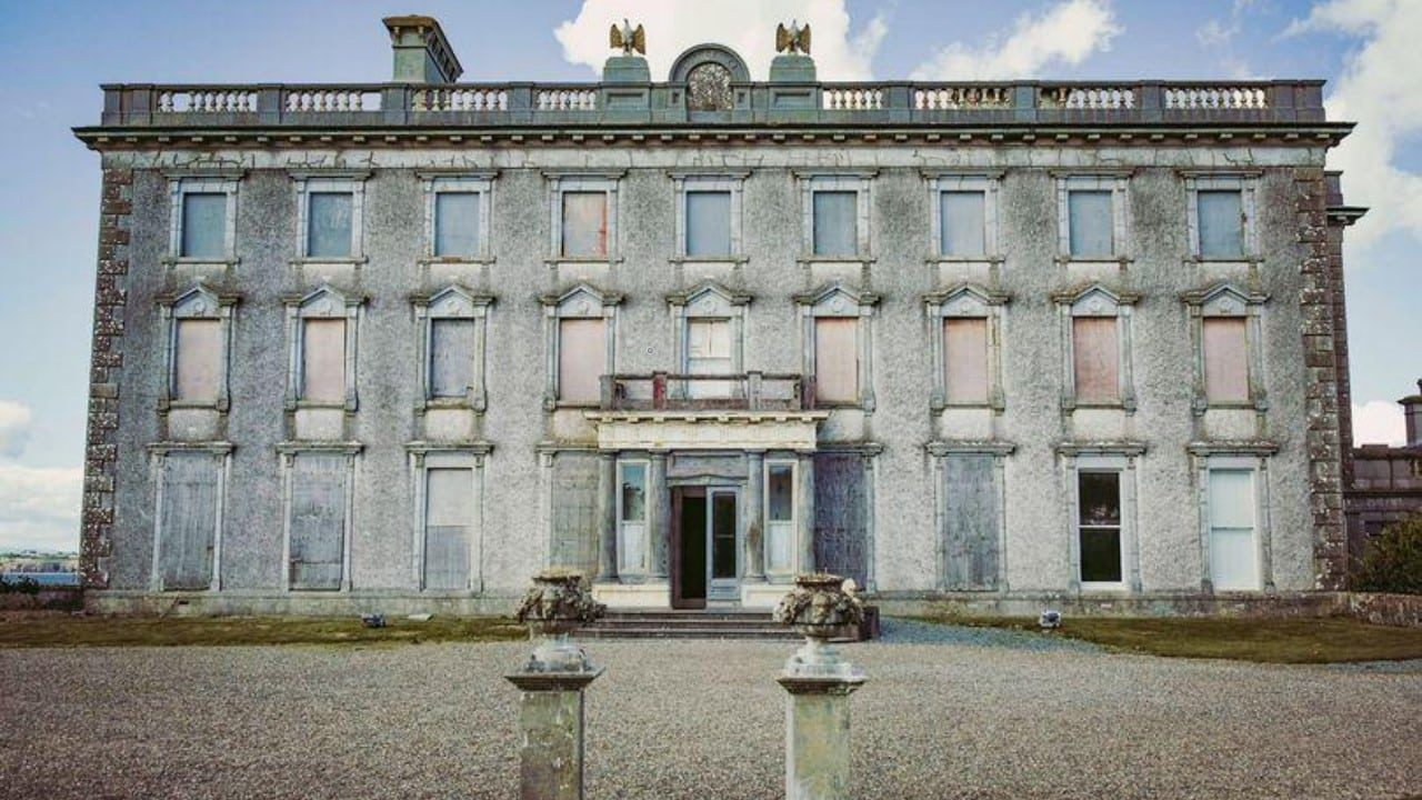 mansão mais assombrada da irlanda